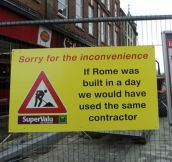 Some Construction Humor