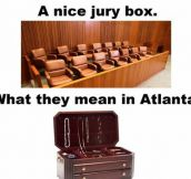 Jury Box In Atlanta