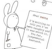 Honest Letter To Santa