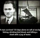 133 Days Alone In The Sea