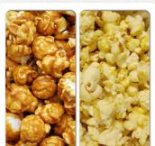 How Do You Eat Your Popcorn?