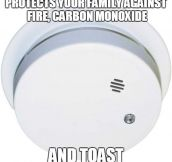 Thank You, Smoke Detector