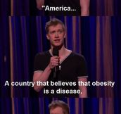 Daniel Sloss On America