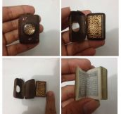 This Tiny Book Is From 1800s