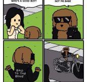 He's Bad To The Bone