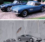 Same Brand Of Car: Then And Now