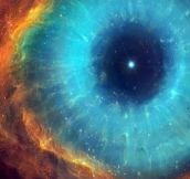 Eye Of The Cosmos, Taken From The Hubble Telescope