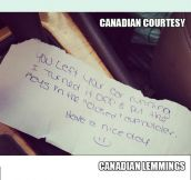 How Things Are Done In Canada