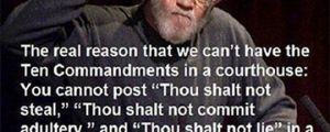 Ten Commandments In Court