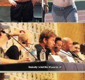 Losing Weight With Chris Pratt
