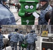 Greenpeace In Russia