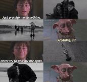 Dobby Couldn't Keep His Promise