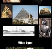 History Channel Expectations