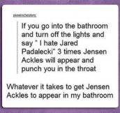 The Jared Padalecki Curse