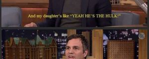 Mark Ruffalo Remembers That Time He Took His Daughter To Preschool
