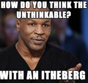 A Simple Question For Tyson