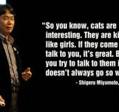 Miyamoto Explains Girls
