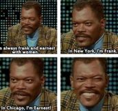 Samuel L. Jackson Knows The Score