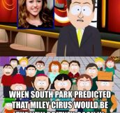South Park Knew It
