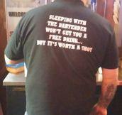 Classy Bartender T-Shirt