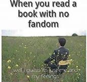 Books With No Fandom