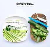 I Love Cucumber Art