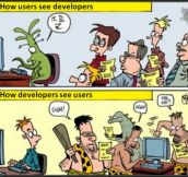 Developers Vs. Users