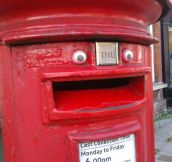 Happiest Post Box Ever