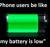 iPhone Users Battery Life
