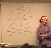 Solving Christmas Mathematically
