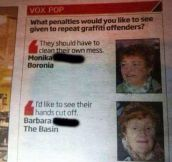 Barbara Knows How To Treat Criminals