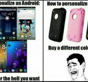 Personalizing Smartphones