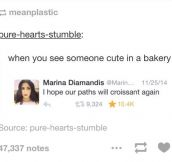 Cute People In A Bakery