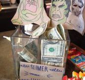 21 Brilliant Tip Jars…
