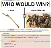 I Choose The Stick