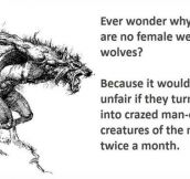 What Happened To The Female Werewolves?