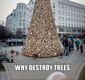 Regular Christmas Trees Are So Last Decade