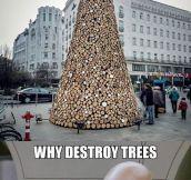 Regular Christmas Trees Are So Last Decade
