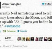 Neil Armstrong's Humor