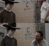 20 Of The Greatest 'Rick Grimes' Dad Jokes…
