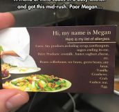 Just Eat Home, Megan