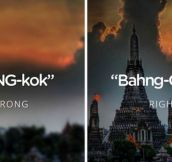24 Places You're Probably Pronouncing Wrong