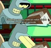God I Love Bender's Jokes