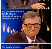 Bill Gates Sure Knows How To Party