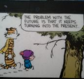 Calvin and Hobbes Dropping Some Knowledge