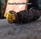 It's A Lego Man In A Sleeping Bag