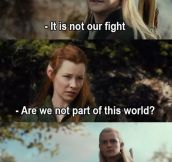 Thanks For Saying It, Legolas