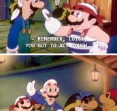 Are You Even Trying Luigi?