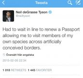 Neil deGrasse Tyson On Passports