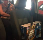 Check The Seat Belt Twice